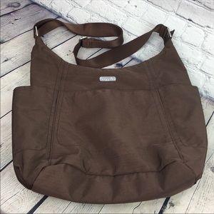Baggallini brown shoulder purse